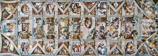 Renaissance Art - The ceiling of the Sistine Chapel