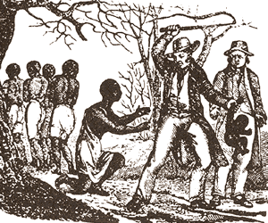 Slavery in the Caribbean - slave beating