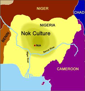 Territory of the Ancient Nok (map)